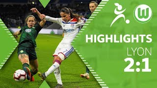 Olympique Lyon - VfL Wolfsburg Frauen 2:1 | Highlights | UEFA Women's Champions League