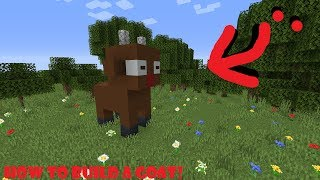 Minecraft | How to Build a Goat (For Charity)!
