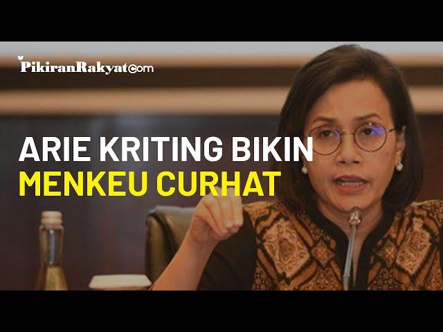 Arie Kriting Bikin Sri Mulyani Curhat: Covid-19 Ekspos Banyak Masalah Ekonomi, Termasuk Utang Negara