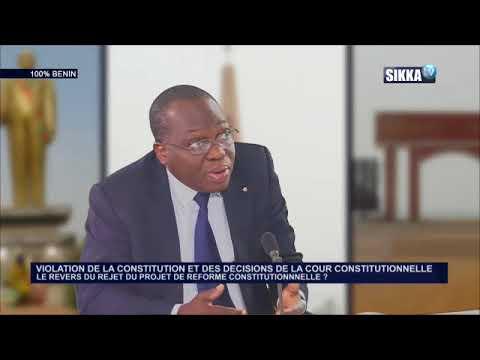 100% BENIN DU 04 04 18/ VIOLATION DE LA CONSTITUTION ET DES DÉCISIONS DE LA COUR CONSTITUTIONNELLE