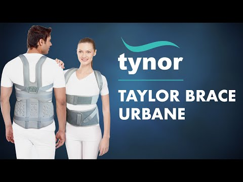 how-to-wear-tynor-taylor-brace-urbane-full-support-&-immobilization-of-thoracic-lumbar-sacral-spine