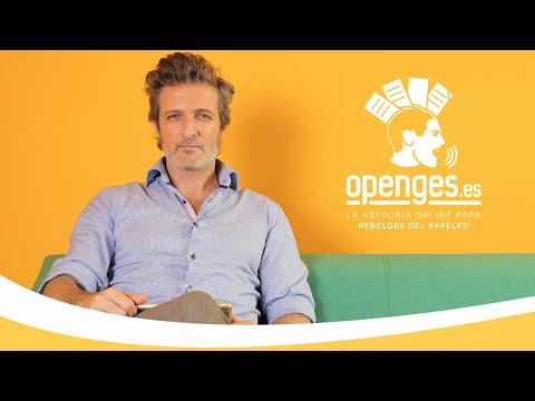 Jesús Olmedo te presenta Openges.es, la asesoría online para rebeldes del papeleo