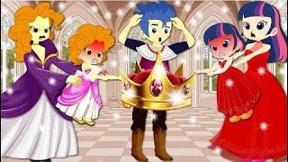Cartoon Equestria Girls Transforms with Animation Funny Story Real Life   My Little Pony MLP