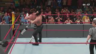 WWE Extreme Rules Seth Rollins vs Dolph Ziggler Iron Man Match (WWE 2018)