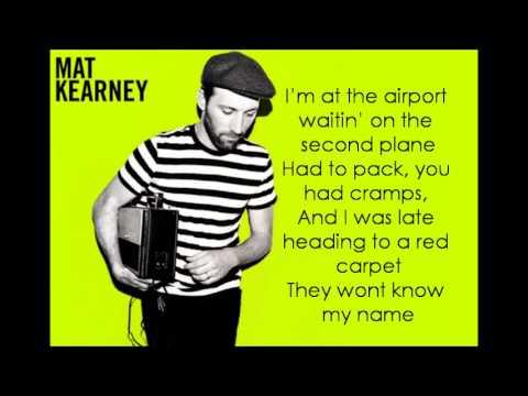 Ships In The Night Mat Kearney W Lyrics Youtube