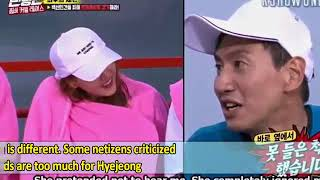 [ANGRY] Lee Kwang Soo Getting Criticized by Netizen Because His Expression on AOA Hyejeong in EP402