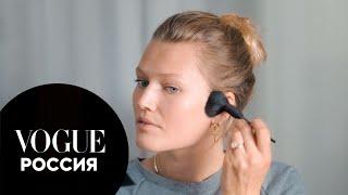 Макияж с эффектом загара от Тони Гаррн Vogue Россия