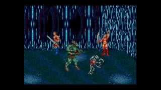 Golden Axe III 2 player Sega Genesis (hard, good ending)