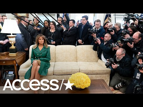 Melania Trump's Birthday Photo Has Sent The Internet Spiraling | Access