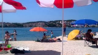 Strand, Kroatien, Riviera von Trogir und Split, Insel Otok Ciovo, Okrug Gornji(Urlaub Team EDERGARTEN., 2014-08-18T00:13:19.000Z)