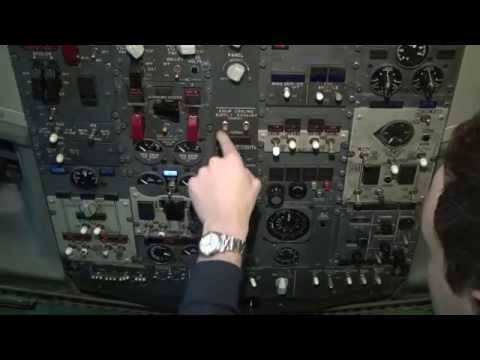 Flying Boeing 737-CL: full flight cockpit video (Part 1) - Baltic Aviation Academy