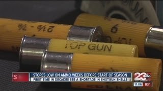 Bakersfield gun stores faced shotgun shell shortage going into dove hunting season