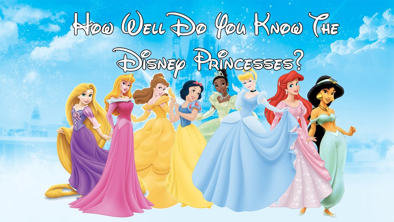 Quiz: How Well Do You Know The Disney Princesses? - YouTube