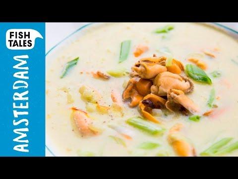 MUSSEL & Saffron Soup | Bart's Fish Tales