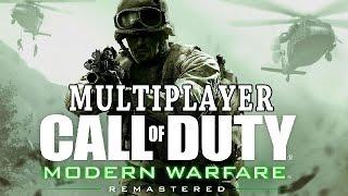Call of Duty Modern Warfare Remastered Multiplayer Gameplay German Deutsch