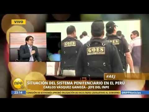 ENTREVISTA AL NUEVO JEFE DEL INPE, CARLOS VÁSQUEZ GANOZA (RPP TV)