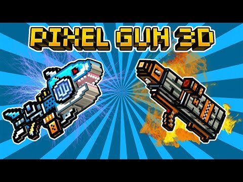 I GOT THE SPARK SHARK !! - Pixel Gun 3D -  Brand New Weapon
