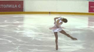 Серафима Саханович, ПП, Russian Juniors 2014