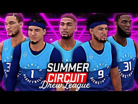 NBA 2K19 Summer Circuit #1 - The GOD Squad SHUTS DOWN Drew League!!