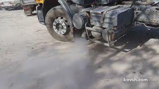 Причина внезапного дымления на Renault Premium 440 II 10.8d DXi 11 440