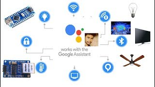 Download Google Assistant Home Automation Using Ethernet Module