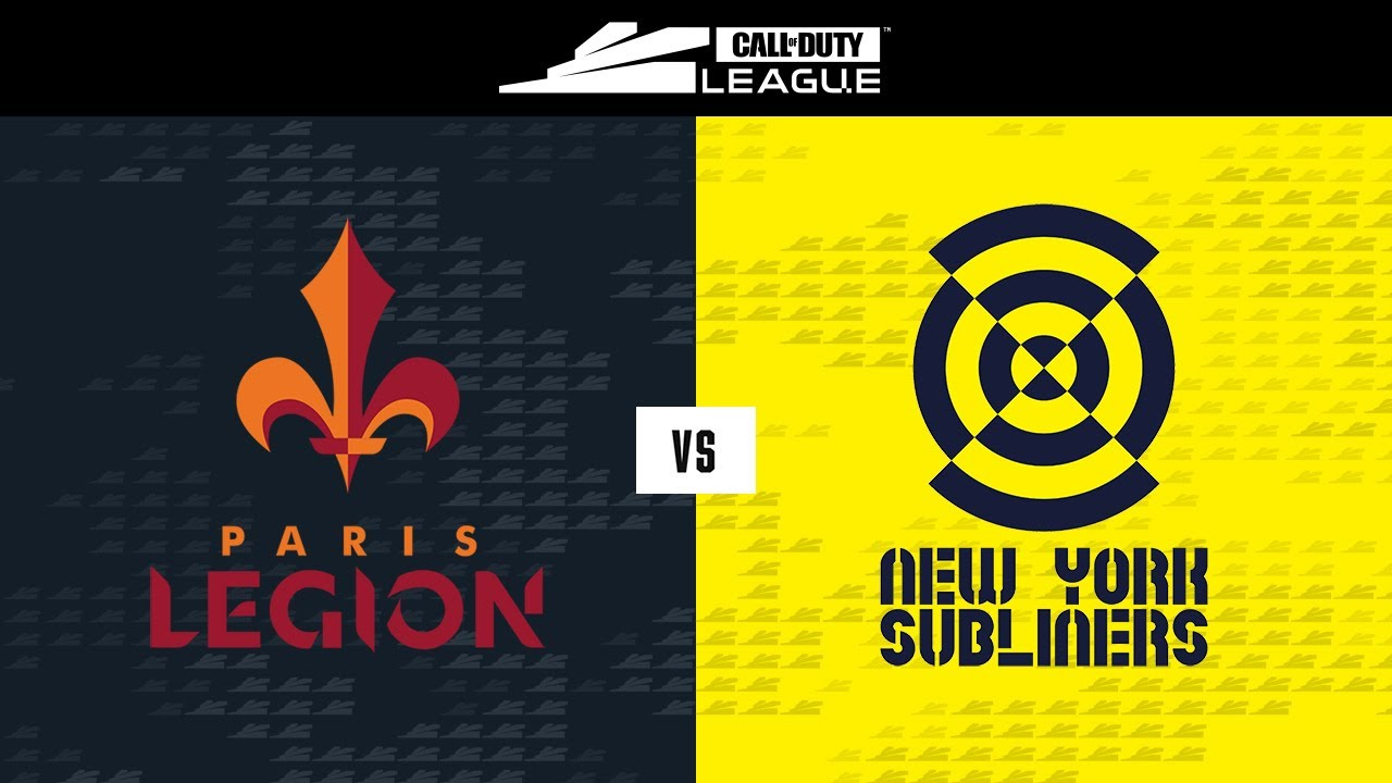 @Paris Legion vs @New York Subliners | Stage V Week 3 — Seattle Home Series | Day 1