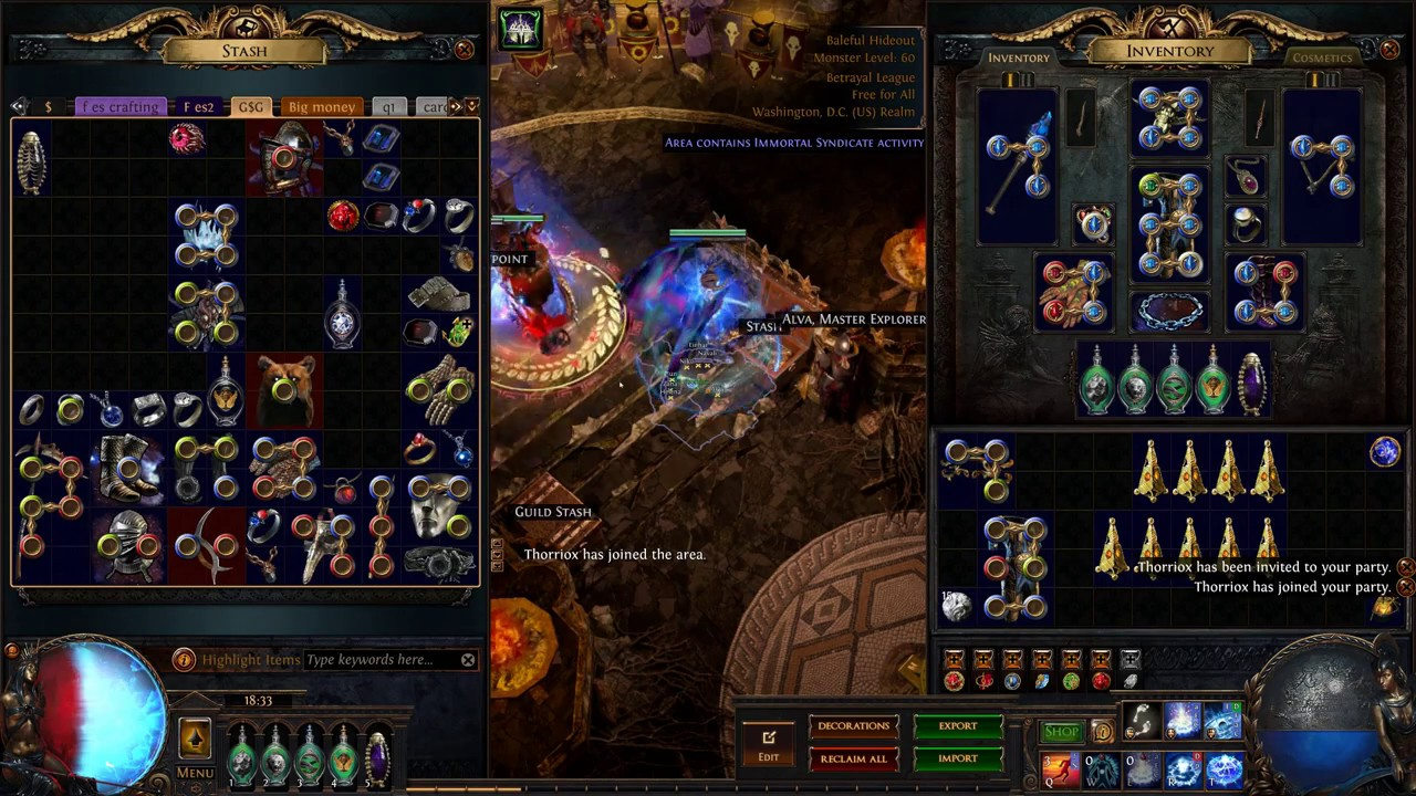 Path Of Exile - 3 5 1 - Crafting high tier ES gear with fossils