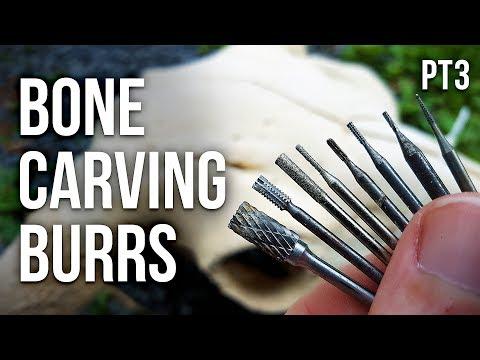 Bone Carving Burrs Tutorial Part 3 Cylinder Burrs Youtube