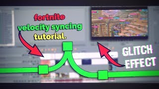 How to make a Professional Fortnite Montage // Glitch effect + Velocity // Sony Vegas Pro Tutorial