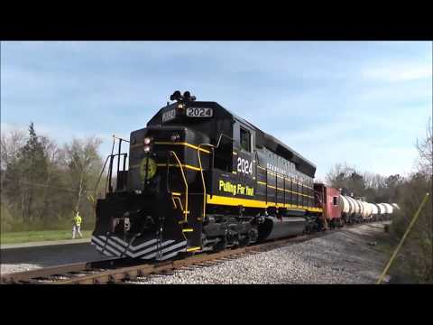 Seaboard Line Boogie - SAL, ACL, and SCL Tribute (Railfanning Music Video)