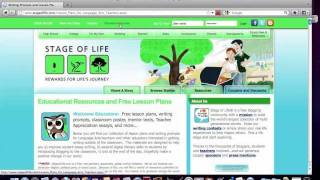 Stage of Life  - Website Tour