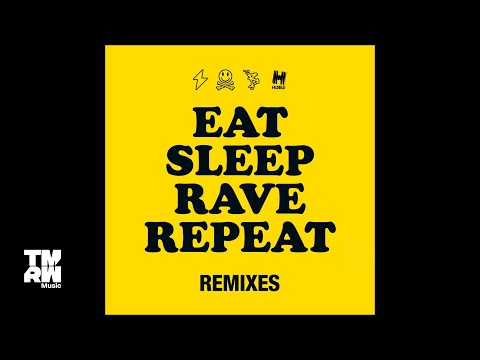 Fatboy Slim & Riva Starr feat. Beardyman - Eat Sleep Rave Repeat  (Uberjak'd Remix)