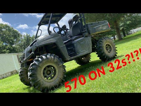 2018 Polaris Ranger 570 FULLSIZE on 32s!!