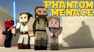 """The Phantom Menace"" - Minecraft Parody"