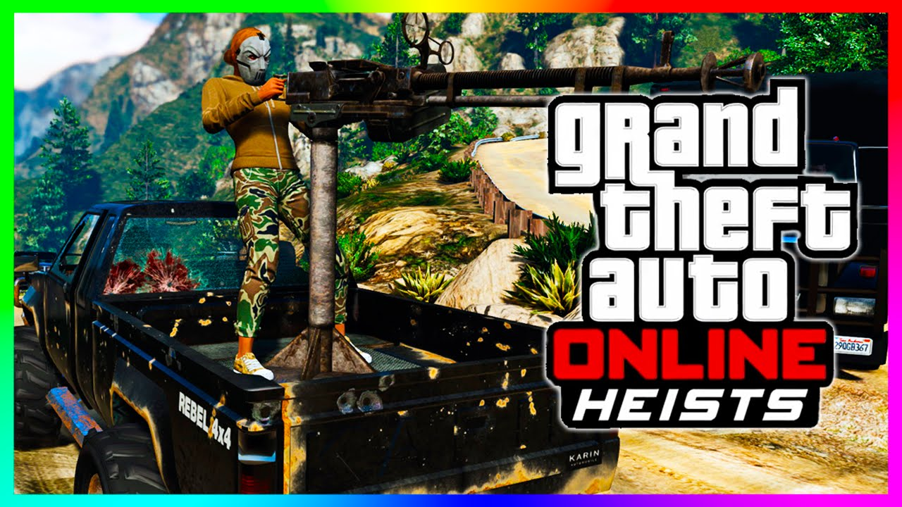 The Latest Dlc Of Grand Theft Auto 5 Heists Update For Ill Gotten