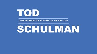 mycoocoon Colour Visions Interview with Tod Schulman  Creative Director Pantone Color Institute
