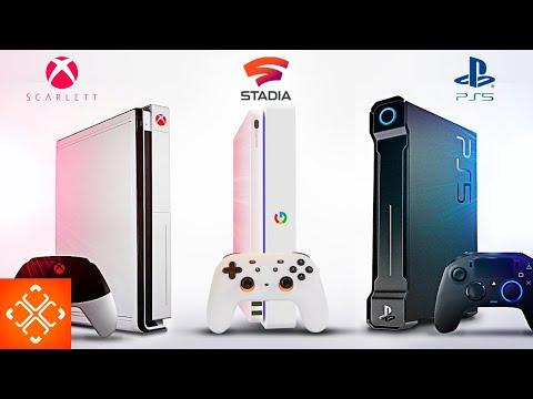 PS5 VS XBOX TWO VS GOOGLE STADIA