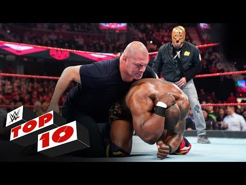 Top 10 Raw moments: WWE Top 10, Oct. 21, 2019 | New WWE