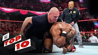 Top 10 Raw moments: WWE Top 10, Oct. 21, 2019