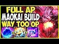 FULL AP MAOKAI SEASON 9 BUILD! THIS IS WAY TOO OP! TOP Lane Maokai vs Mundo Season 9 Ranked Gameplay