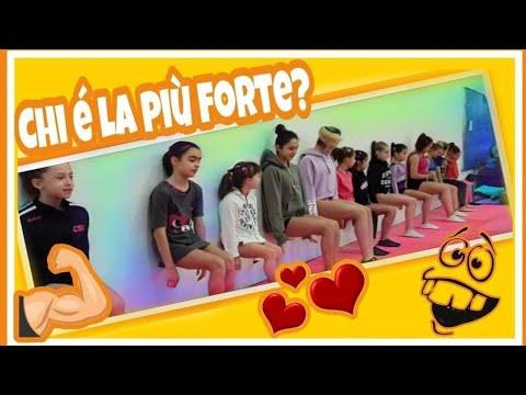 RESISTENZA E FORZA CHALLENGE UN ANNO DOPO ginnastica artistica