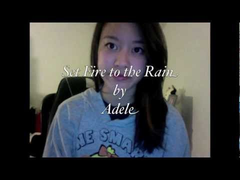 Set Fire to the Rain by Adele (Cover by Tass Sang)