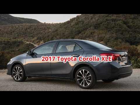 2017 toyota corolla xle toyota corolla xle review. Black Bedroom Furniture Sets. Home Design Ideas