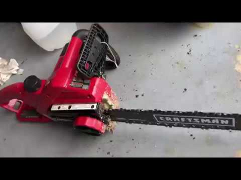 Craftsman electric chainsaw repair cleaning maintenance youtube craftsman electric chainsaw repair cleaning maintenance keyboard keysfo Image collections