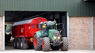 Harvesting Potatoes | 2x AVR Puma 3 + FENDT 939 & 828 tractors | vd Borne Aardappels