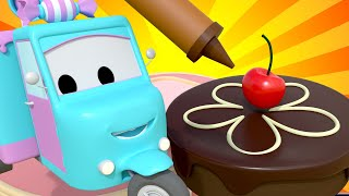 Pat-a-cake, Pat-a-cake Nursery Rhymes Songs for Children with Trucks of Car City