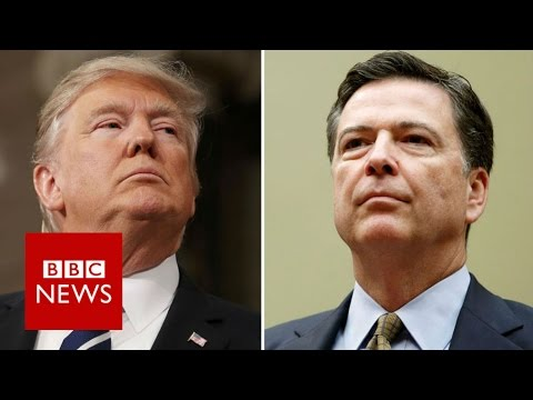 FBI chief James Comey fired by Trump – BBC News