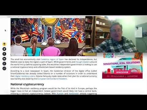 Catalonia Considers Cryptocurrency