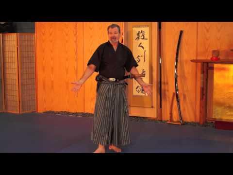 Samurai Iaijutsu James Williams sensei Nami ryu