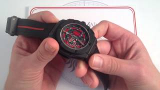 Hublot King Power Red Devil Manchester United Luxury Watch Review